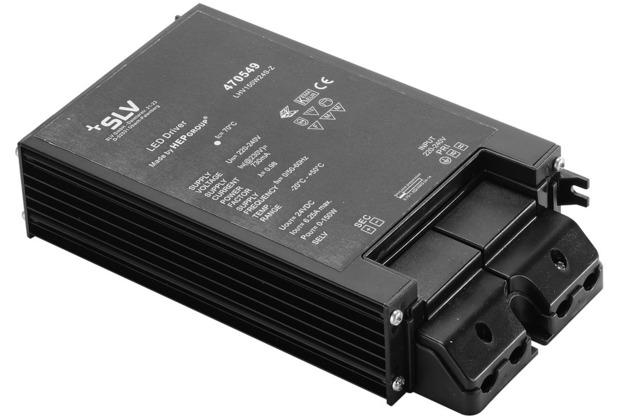 SLV LED Netzteil, 150W, 24V, inkl. Kabelverschraubung schwarz