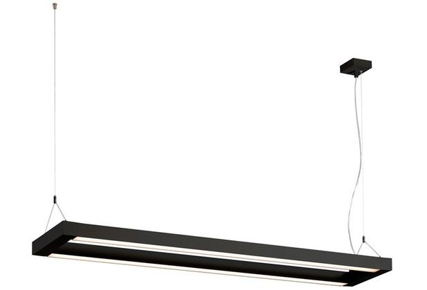 SLV LONG GRILL LED Pendelleuchte, schwarz, 3000K