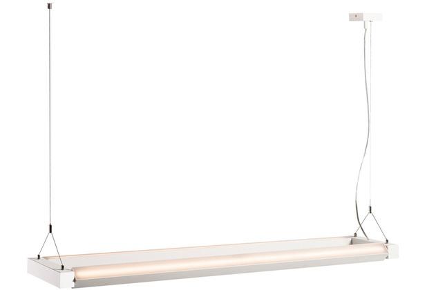 SLV LONG GRILL LED Pendelleuchte, weiss, 3000K