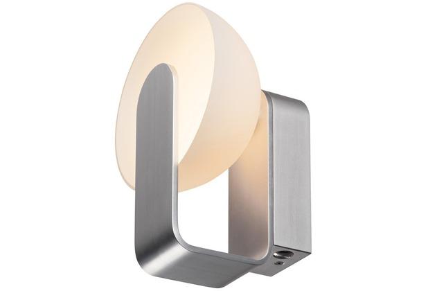 SLV Mod. 86 LED, Wandleuchte, weiss/ silber weiß/silber