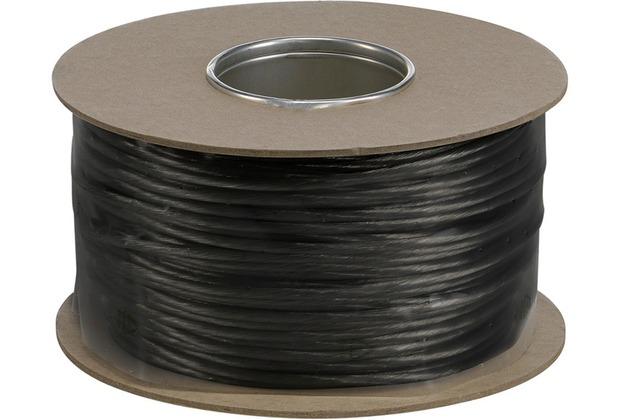 SLV NIEDERVOLT-SEIL, für TENSEO Niedervolt-Seilsystem, schwarz, 6mm², 100m