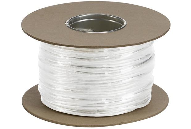 SLV NIEDERVOLT-SEIL, für TENSEO Niedervolt-Seilsystem, weiß, 4mm², 100m