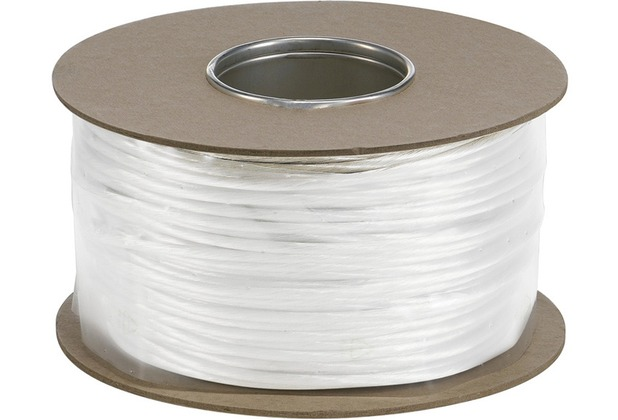 SLV NIEDERVOLT-SEIL, für TENSEO Niedervolt-Seilsystem, weiß, 6mm², 100m