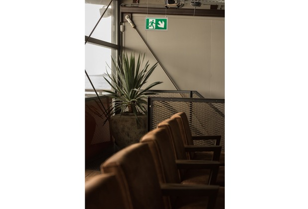 SLV P-LIGHT Emergency Series Exit sign SMALL pendant white weiß
