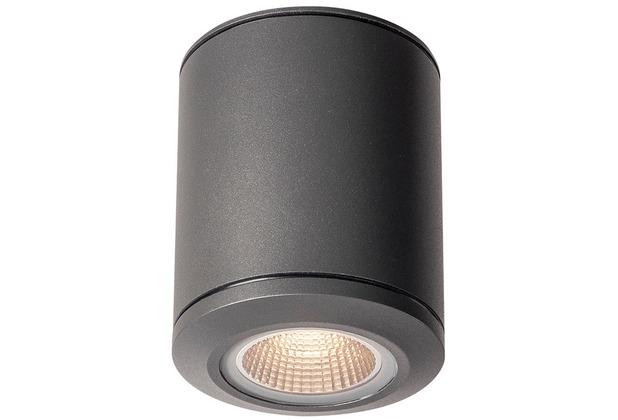 SLV POLE PARC LED Outdoor Deckenleuchte, anthrazite, 3000K, IP44