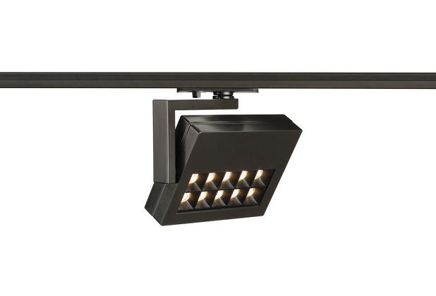 SLV PROFUNO LED Strahler, schwarz, 3000K, 60°, inkl. 1P.-Adapter schwarz