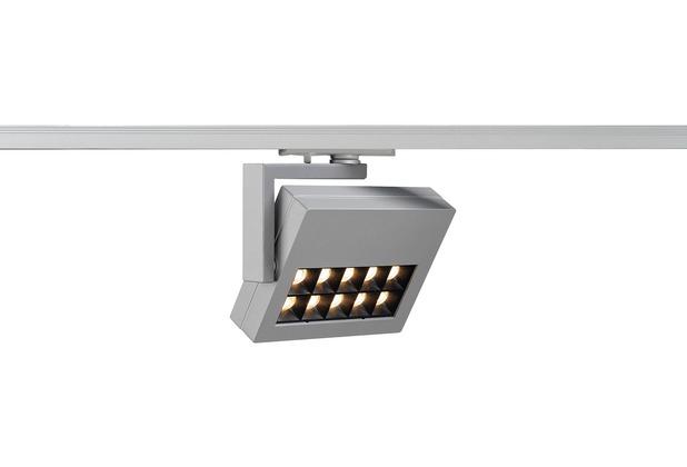 SLV PROFUNO LED Strahler, silber 3000K, 60°, inkl. 1P.-Adapter silbergrau