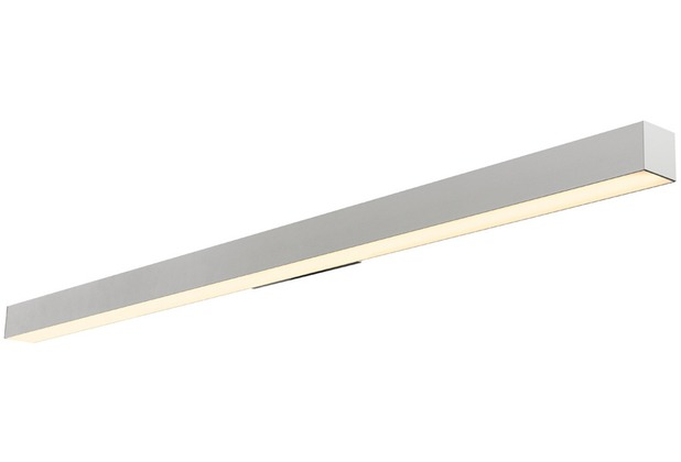SLV Q-LINE LED Wandleuchte, silbergrau, 3000K