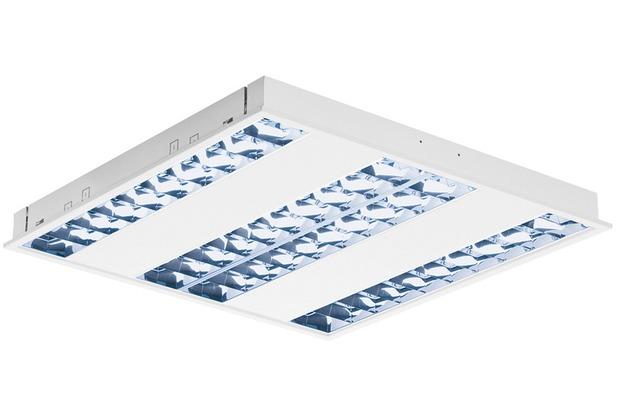 SLV RASTO, Deckeneinbauleuchte für Rasterdecken, LED, 4000K, weiß, L/B 59,6/59,6 cm, 4000lm, 36W