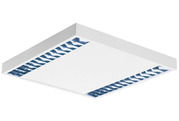 SLV RASTO, Deckenleuchte, zweiflammig, LED, 4000K, weiß, L/B/H 60,4/60,4/5,8 cm, 4000lm, 38W