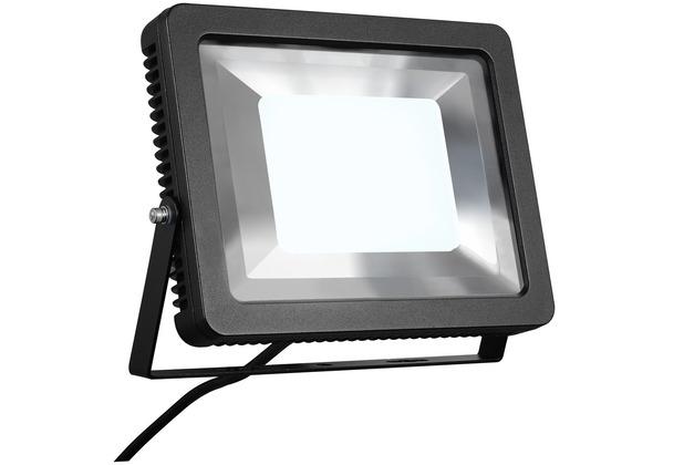 SLV SPOODI Strahler, eckig, 60W, schwarz, 4000K LED schwarz