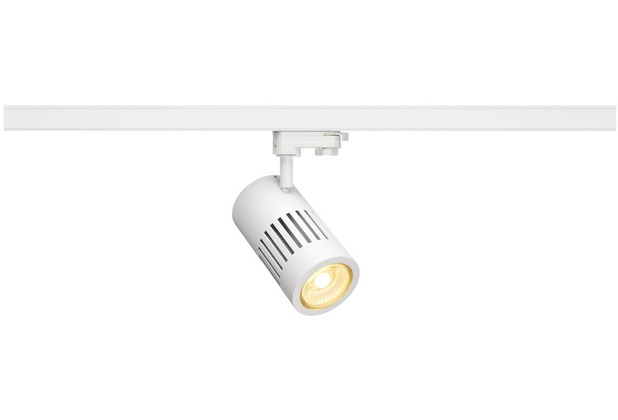 SLV STRUCTEC LED 30W, rund, weiss, rich color, 36° inkl. 3P.-Adapter weiß