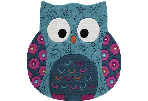 smart kids Kinderteppich Little Owl SM-3659-01 100cm x 100cm