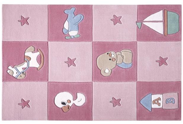 smart kids Kinderteppich Newborn SM-3986-02 110cm x 170cm