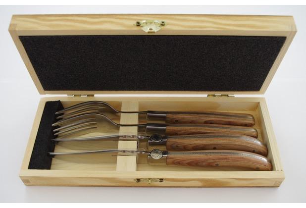 solex TORRO Steakbesteck-Set 4tlg. (2 Steakmesser + 2 Steakgabeln)