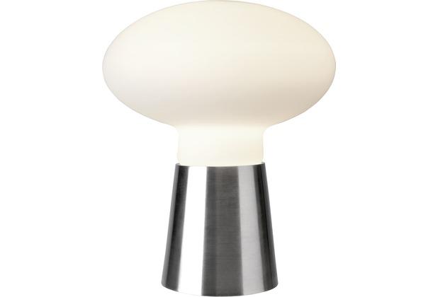 Sompex Tischleuchte Bilbao Glas satin/weiß H 42cm D 35cm