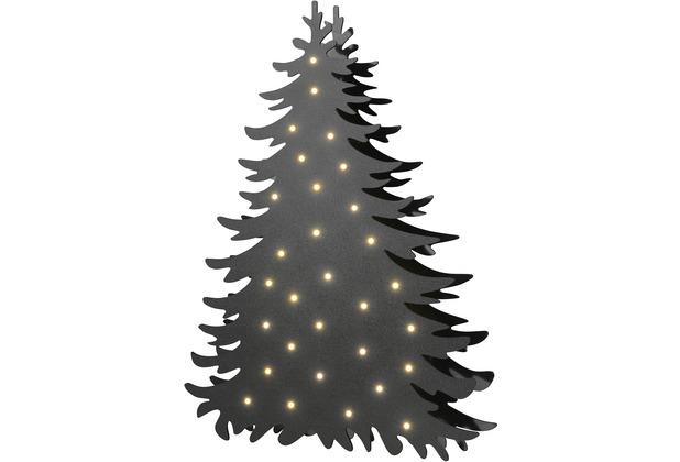 Sompex Stehleuchte Blacky LED schwarz H 46cm Weihnachten Weihnachtsbaum