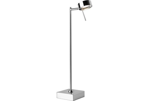 Sompex Tischleuchte Bling LED chrom/matt H 56cm Leselampe
