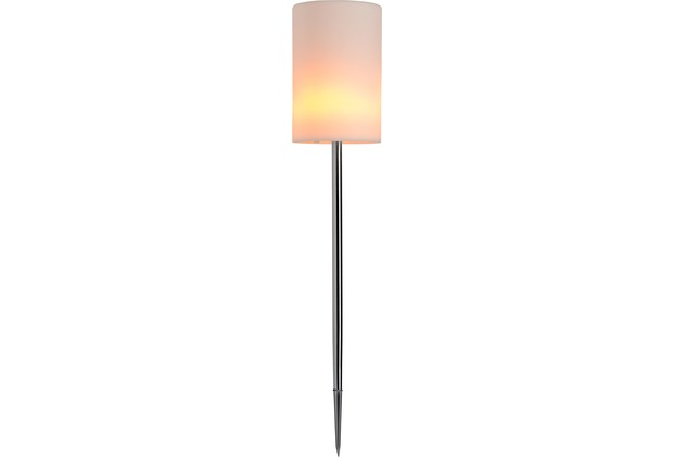 Sompex Dekoleuchte Fiero LED Fackel Flammenoptik Erdspieß
