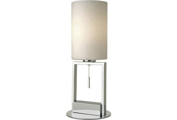 Sompex Tischleuchte Fine E27 Glas, weiß