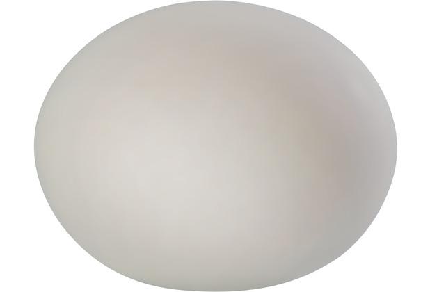 Sompex Tischleuchte Glas Oval 19cm, matt