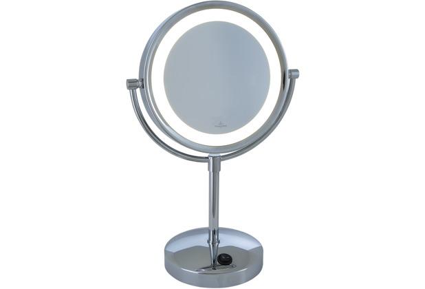 Villeroy & Boch Kosmetikspiegel London rund mit Licht (Batterien betrieben)
