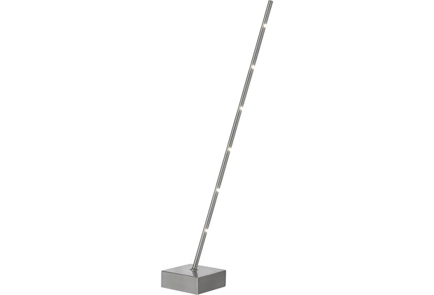 Sompex Stehleuchte Pin LED, Satin, H65cm, dimmbar