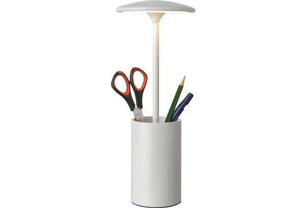 Sompex Tischleuchte Pott LED Weiß