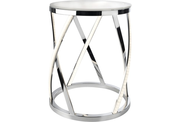 Sompex Stehleuchte Rumpu LED D 35cm H 44cm mit Glas Leuchtstäbe Beistelltisch