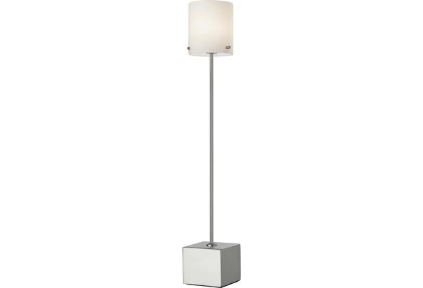 Sompex Tischleuchte Slim LED, Schirm Zylinder