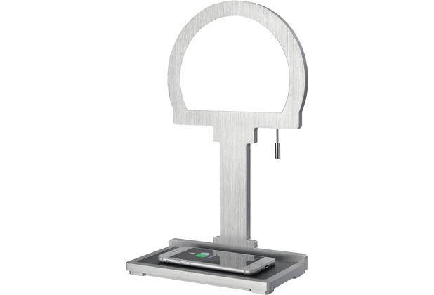 Sompex Tischleuchte Steve-Phone LED, Halbkreis