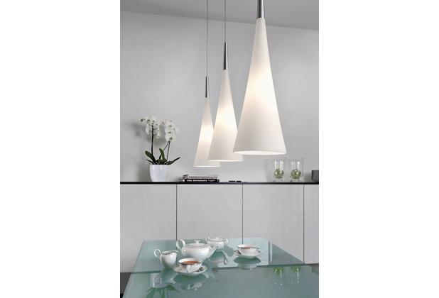 Sompex Deckenleuchte Stockholm Glas Weiß