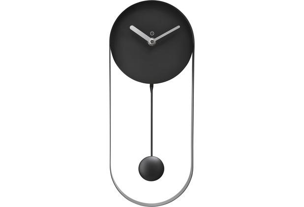 Sompex TOULOUSE Pendeluhr 35x14x5cm,Metall, schwarz