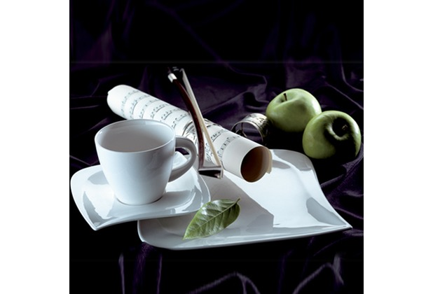Domestic La Musica Kaffeeservice für 6 Personen 18-teilig