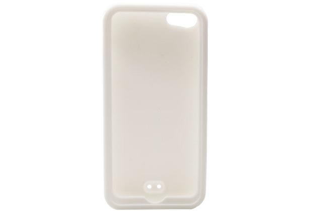 Silikon-Schutzhülle für iPhone 5/5S/SE, weiß