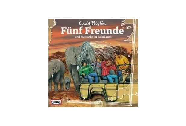 Sony Fünf Freunde 107 und die Nacht im Safari-Park Hörbuch