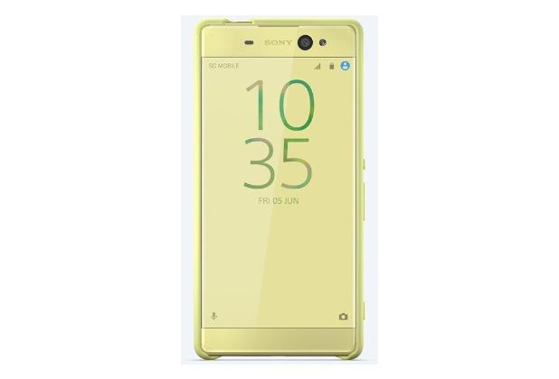Sony Smart Style Cover für Xperia XA Ultra, Grüngold