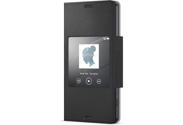 Sony Smartphone-Cover SCR26, schwarz