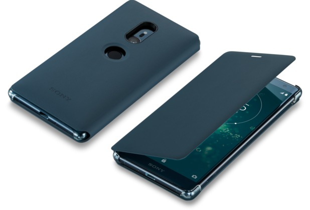 Sony Style Cover Stand SCSH40 - Xperia XZ2 (Grün)