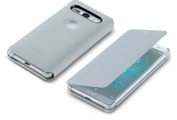 Sony Style Cover Stand SCSH50 - Xperia XZ2 Compact (Grau)