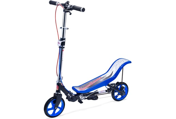 space scooter x590 deluxe blau bis 120 kg f r kinder und. Black Bedroom Furniture Sets. Home Design Ideas