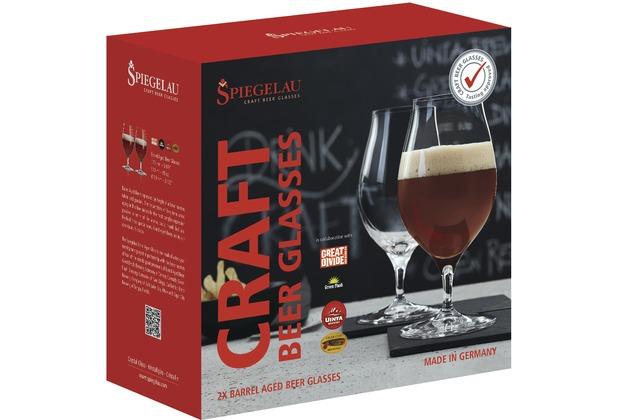 Spiegelau Barrel Aged Bier 2er Set Craft Beer Glasses