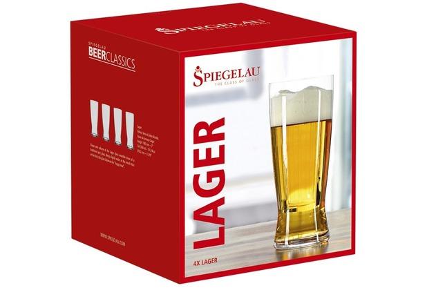 Spiegelau Beer Classics Helles 4er Set