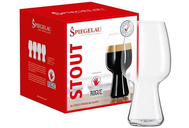 Spiegelau Craft Beer Glasses Stout Glas 4er Set