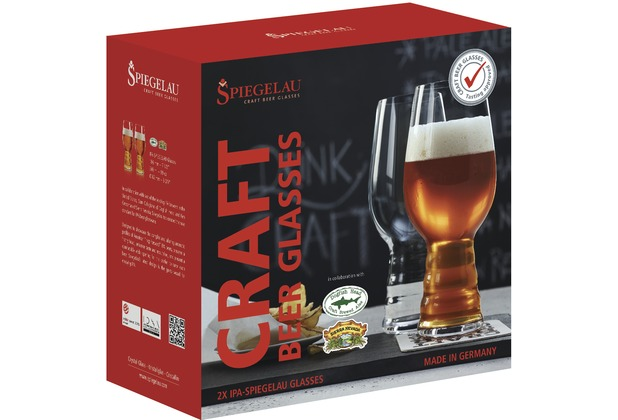 Spiegelau IPA Glas 2er Set Craft Beer Glasses