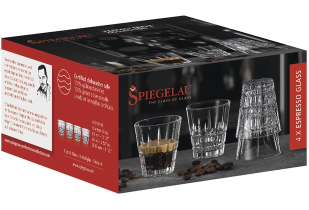 Spiegelau Perfect Serve Coll. Perfect Espresso Glass 4er Set