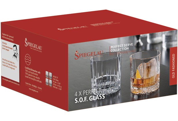 Spiegelau Perfect Serve S.O.F. Glass 4er Set