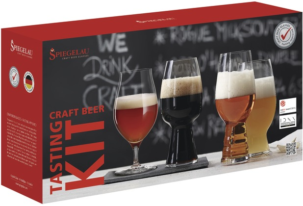 Spiegelau Tasting Kit 4er Set Craft Beer Glasses