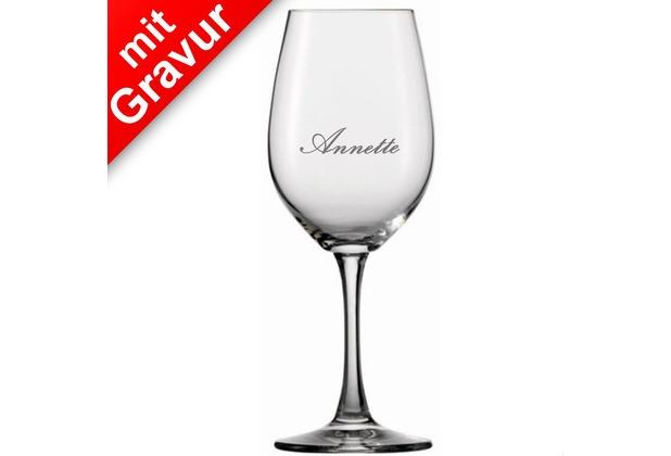 Spiegelau Winelovers Weisweinglas 4er Set MIT GRAVUR (z.B. Namen)