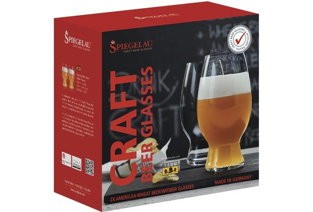 Spiegelau Witbier Glas 2er Set Craft Beer Glasses